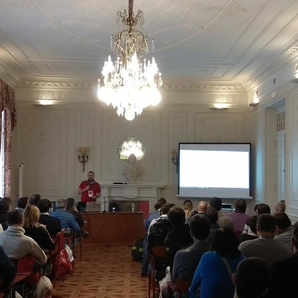 Pablo- en la WordCamp Santander 2017 opez