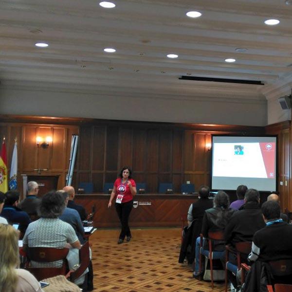 rosa-P Rez en la WordCamp Santander 2017